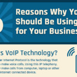 [Infographic] – 6 Reasons Why You Should Be Using VoIP