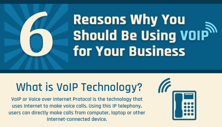 Infographic 6 reasons why you should be using voip