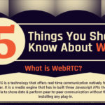[Infographic] – 5 Things You Should Know About WebRTC