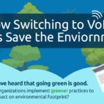 How Switching to VoIP Helps Saves the Environment