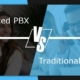 hosted pbx vs on premise pbx - comparison