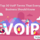 voip terms snippet