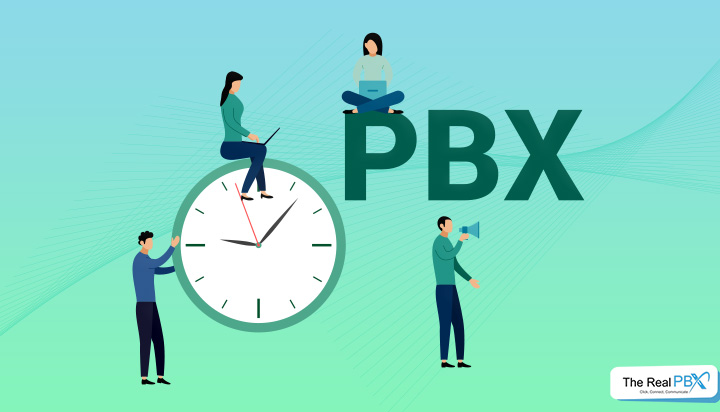 Hosted PBX - time condition vs time group